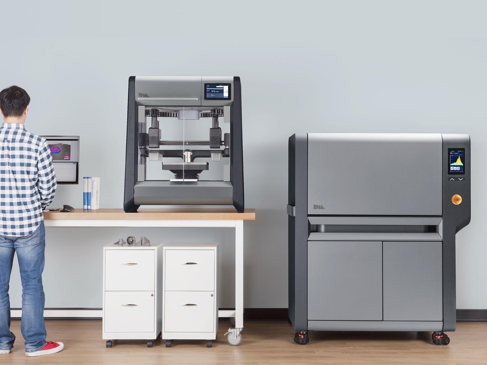 Офисная 3D печать металлом